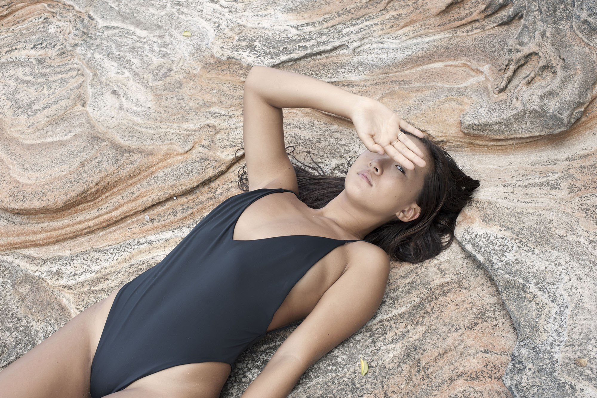 TBP, Tom, Batrouney, Photo, Photographer, Photography, Fashion, Model, Swim, Swimwear, Swimming, Face, Makeup, Eyes, Lips, Swimmer, Summer, Editorial, Bikini, Beach, Sand, Salty, Water, Wet, Sea,